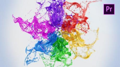 Videohive - Playing Paints Logo Reveal – Premiere Pro