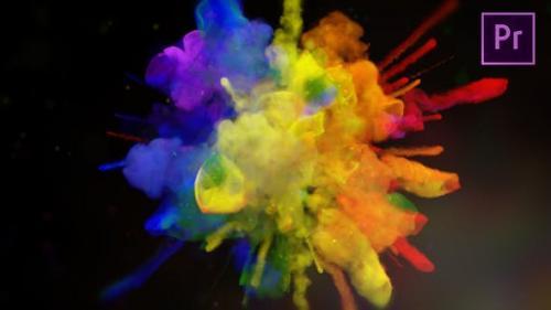 Videohive - Exploding Colors Logo Reveal - Premiere Pro