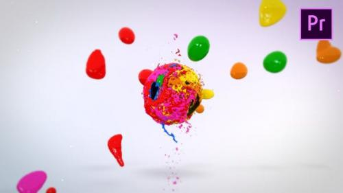 Videohive - Mixing Paints Logo Reveal – Premiere Pro