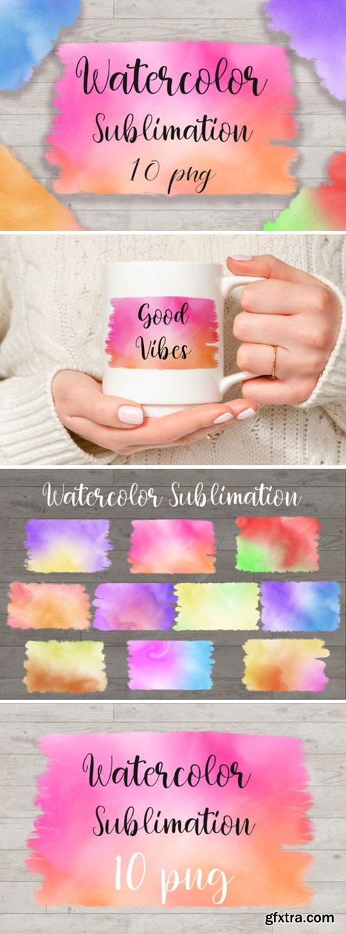 Sublimation Watercolor Background 6045944