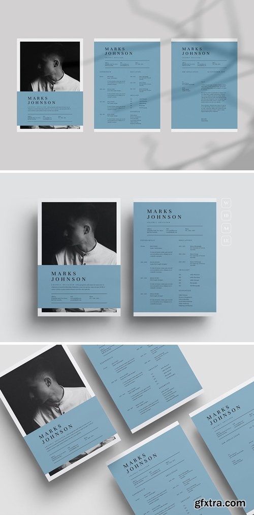 Clean, Simple, Modern and Professional 3 CV Resume