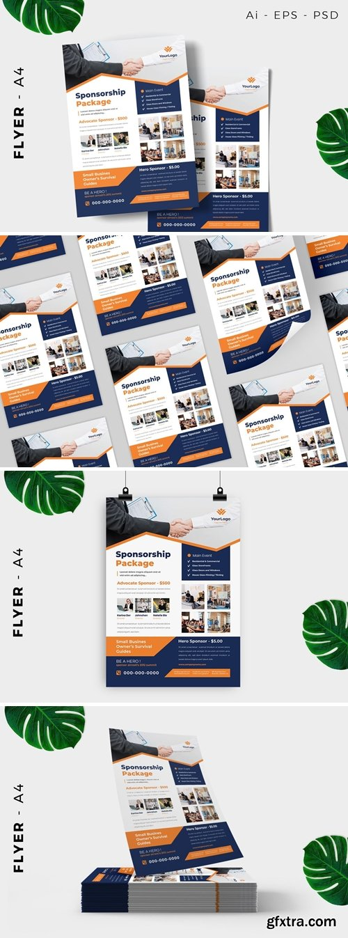 Business Event Sponsorship Design