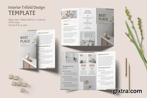 Interior Trifold Brochure