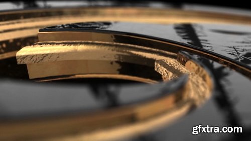 Videohive - Gold Black And Shine Logo Reveal - 28498726