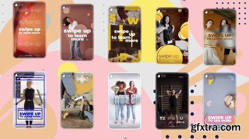 Videohive - Instagram Swipe Up Stories - 28774368
