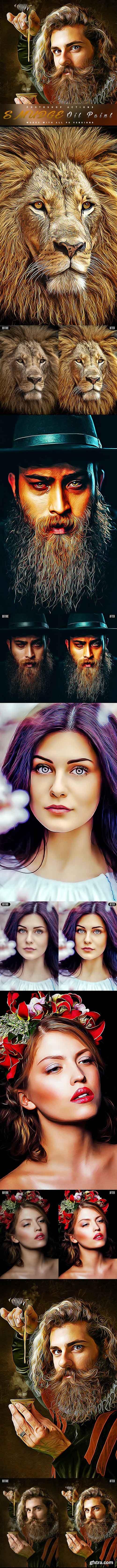 GraphicRiver - Smudge Oil Paint - Photoshop Action 28283756