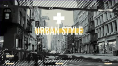 Videohive - Urban Frames