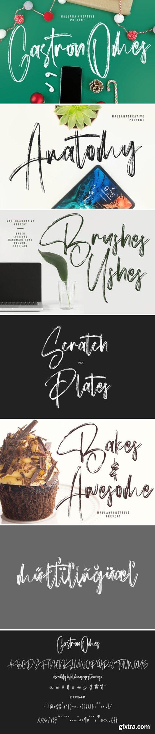 Gastronomes Font