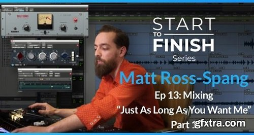 PUREMIX Matt Ross-Spang Episode 13 Mixing Just As Long As You Want Me Part 1 TUTORiAL-SYNTHiC4TE