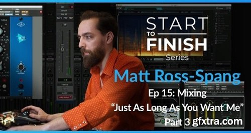PUREMIX Matt Ross-Spang Episode 15 Mixing Just As Long As You Want Me Part 3 TUTORiAL-SYNTHiC4TE