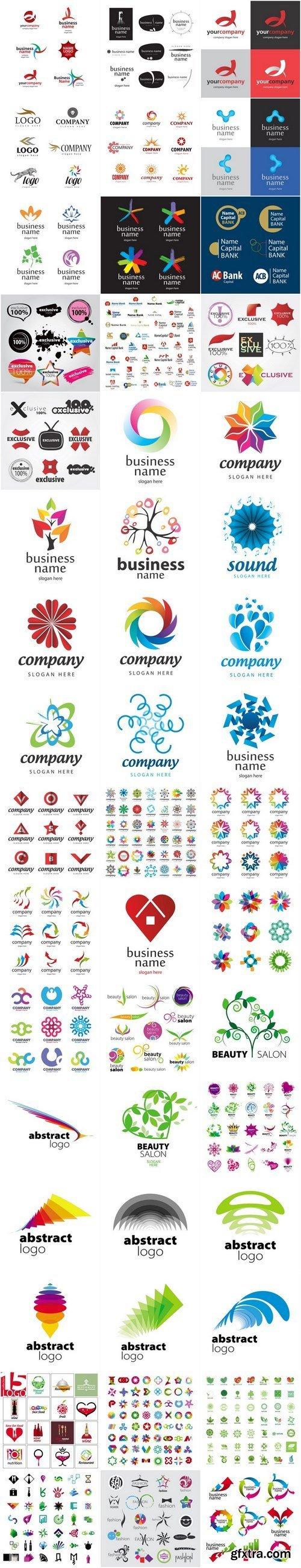 Logo Collection - 50xEPS, AI