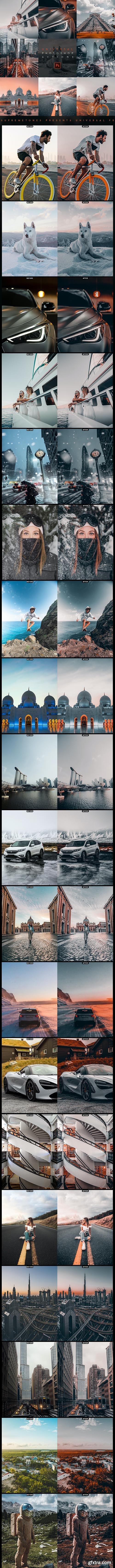 GraphicRiver - UNIVERSAL Photoshop Actions 28301543