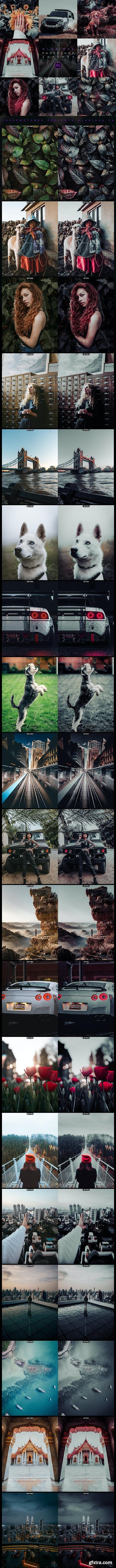 GraphicRiver - GLORIOUS Photoshop Actions 28316618