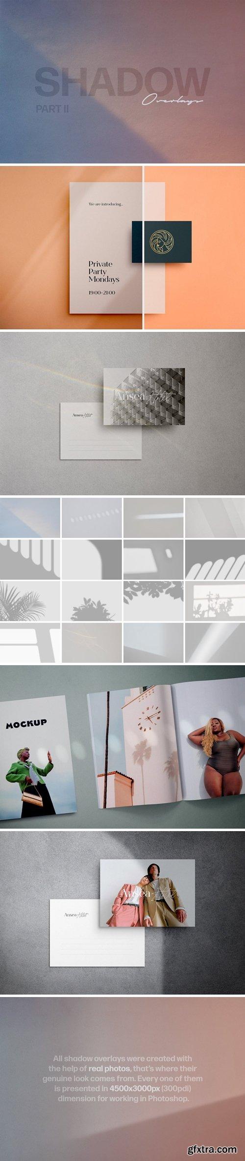 Shadow Play Photo Overlays Vol.2