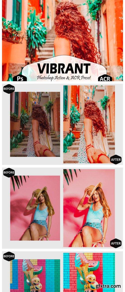 10 Vibrant Photoshop Actions, ACR Preset 5917016