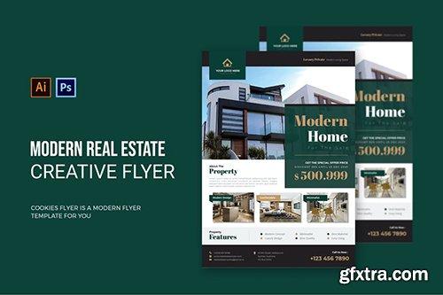 Modern Real Estate - Flyer