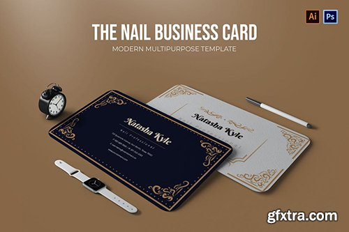Nail Professional - Business Card