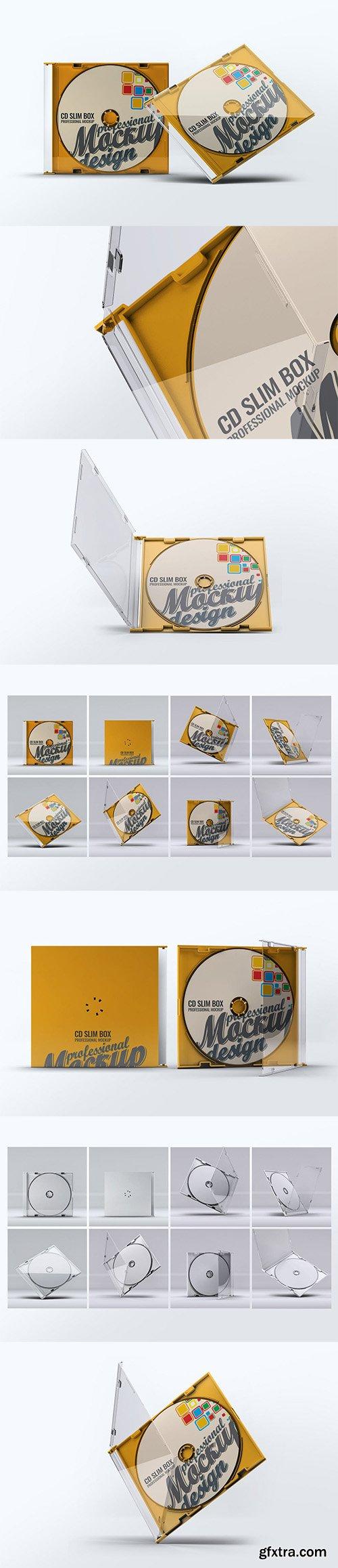 CD Slim Box Mock-Up