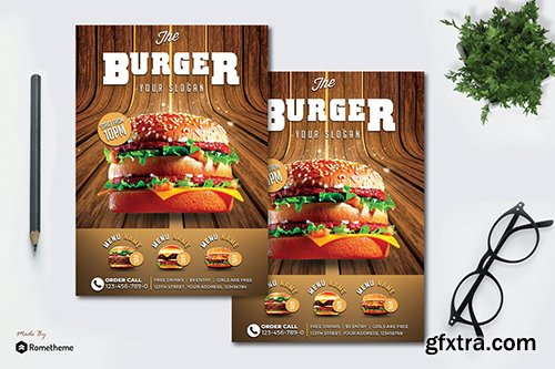 Burger - Flyer MR