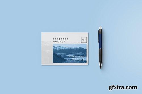 Post Card Mockup