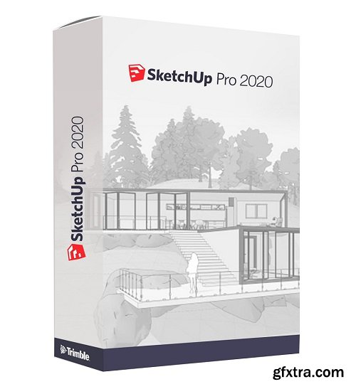 Create your Model with Google Sketchup Pro 2020