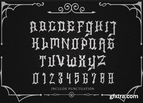 ShockFest Blackletter Font