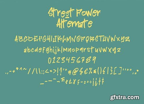 Street Power Graffiti Font
