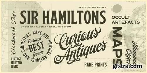 Paper Tiger Font Family