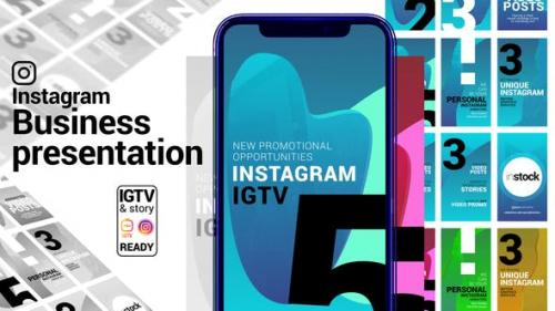 Videohive - Instagram Story. Business Presentation. IGTV and Story ready.