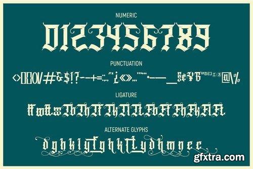 CM - Grindmore Stunning Blackletter Fonts 5441188