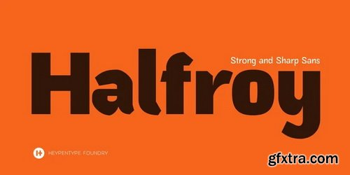 Halfroy Font Family