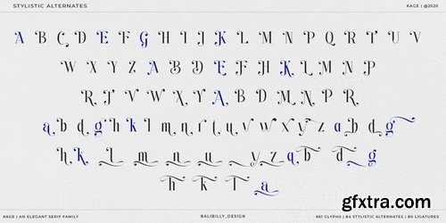 Kage Font Family