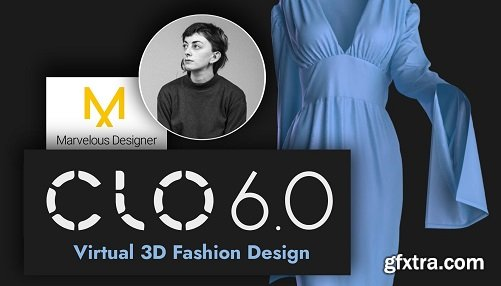 Clo 3D Basics - Learn 3D Fashion Design - Create Clothes from Home - CAD Flats - Marvelous Designer