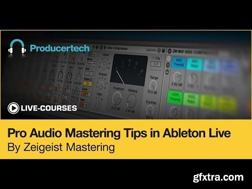 Producertech Pro Audio Mastering Tips in Ableton Live TUTORiAL