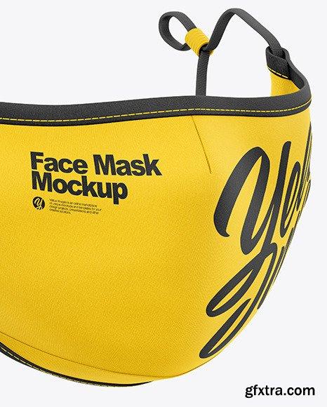 Face Mask Mockup 68778