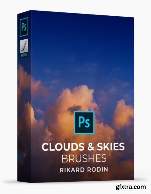Rikard Rodin - Clouds & Skies Brushe & Overlays + Tutorial