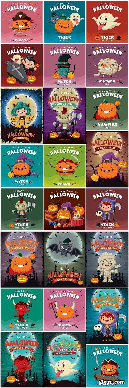 Halloween Template 2 - 25xEPS