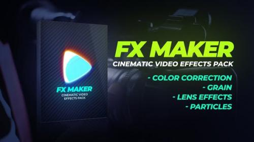 Videohive - FX Maker Video Effects Pack