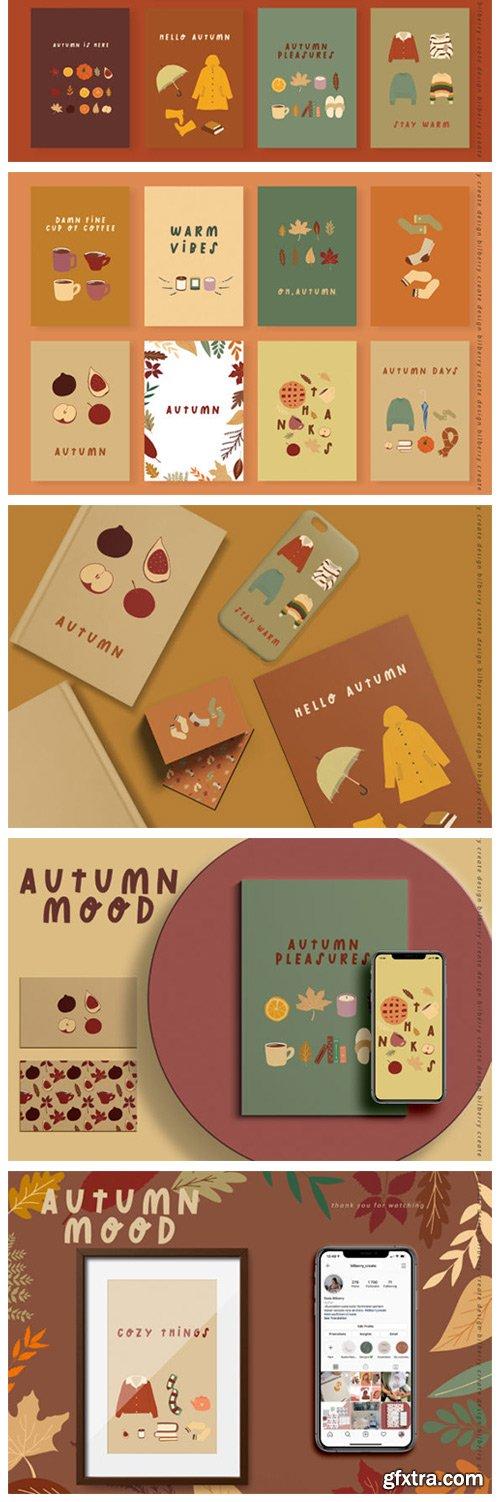 Autumn Mood Art Set 6217755