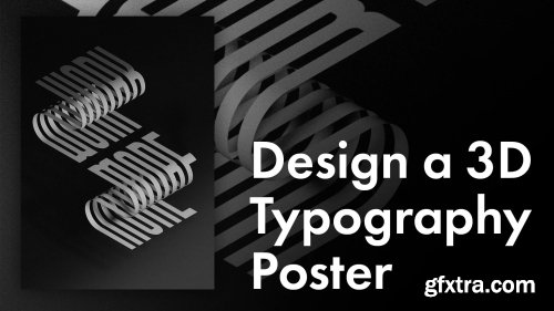 Design a 3D Typography Poster