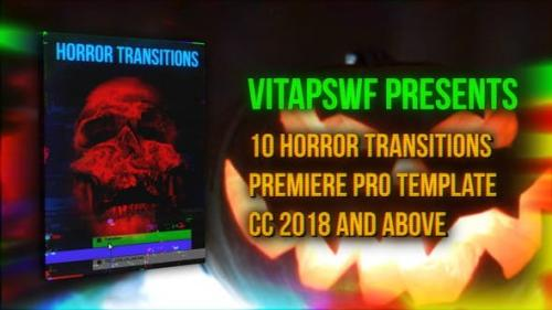 Videohive - Halloween Horror Transitions