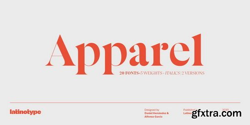 Apparel Font Family