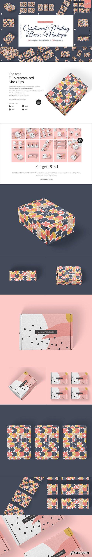 CreativeMarket - 15x Mailing Boxes Mock-ups 5023923