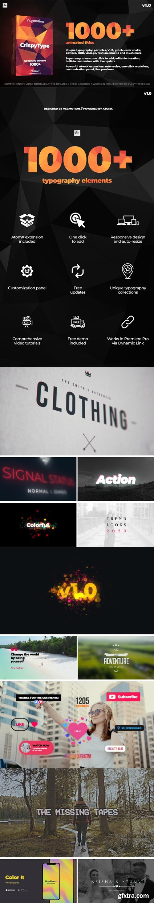 Videohive - 1000+ Titles And Typography - 28464847