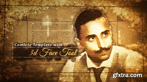 Videohive - 3D Photo History Opener - 28683512