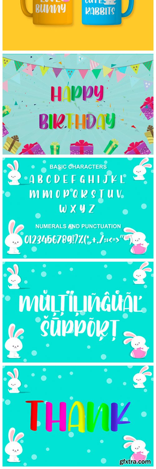 Bunny Baby Font