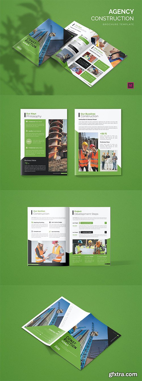 Construction Agency - Brochure Template