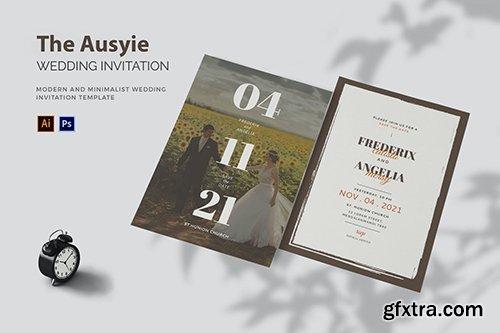 Ausyie - Wedding Invitation