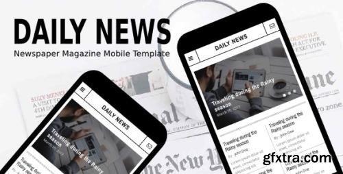ThemeForest - Daily News v1.0 - Newspaper Magazine Mobile Template - 20426392