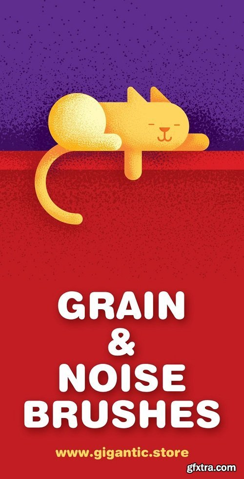 Gigantic Grain Brushes (Adobe illustrator grain brushes)